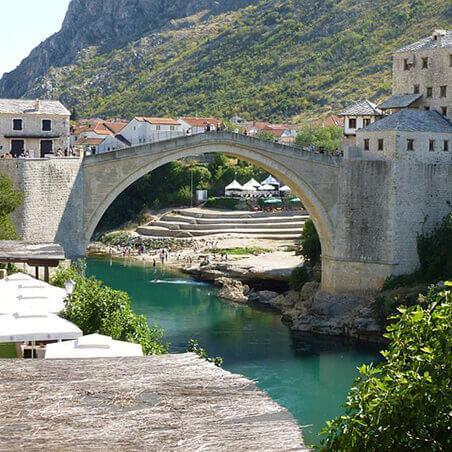 Smještaj Bosna i Hercegovina
