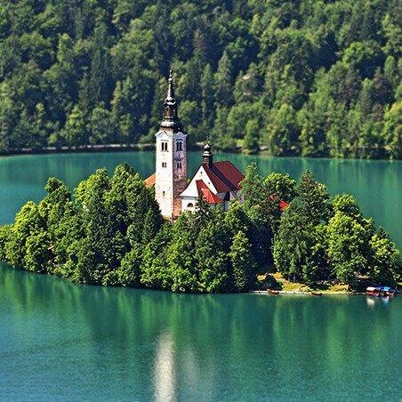 Smještaj Slovenija