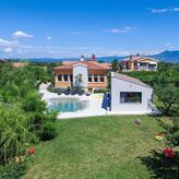Luxury holiday house with pool in Nedescina, Rabac, Istria, Croatia, Рабац