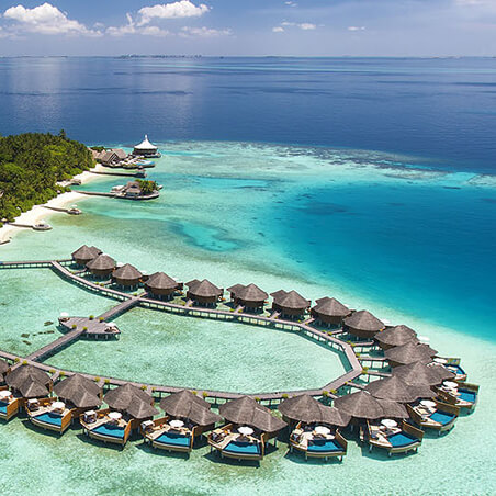 Accommodation in Maldives